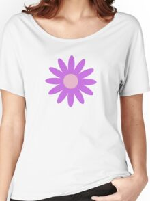 Flowers, Blossoms, Blooms, Petals - Purple Women's Relaxed Fit T-Shirt