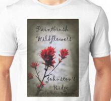 paintbrush wildflowers, Johnston's Ridge 2 Unisex T-Shirt