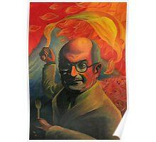 Salman Rushdie Poster