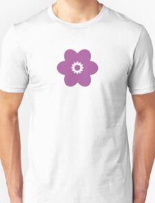 Flowers, Blossoms, Blooms, Petals - Purple Unisex T-Shirt