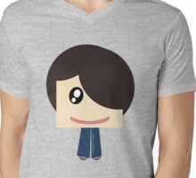 Happy Family Collection - Dad Mens V-Neck T-Shirt