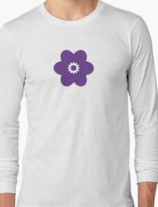 Flowers, Blossoms, Blooms, Petals - Purple Long Sleeve T-Shirt