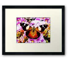 I close my eyes and drift away Framed Print