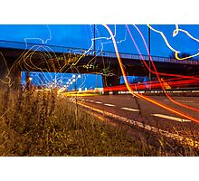 Graffiti with Light  Photographic Print