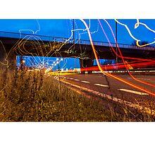 Graffiti with Light  Photographic Print
