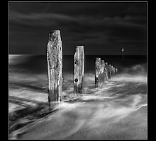 Teignmouth Groyns by MDSPhotoimages