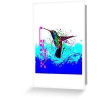 hummingbird Program Greeting Card