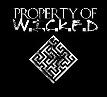 Maze Runner- Property of Wicked by YoursGeekly
