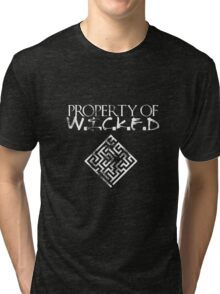 Maze Runner- Property of Wicked Tri-blend T-Shirt
