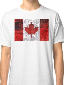 circuit board Canada (Flag) Classic T-Shirt