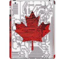 circuit board Canada (Flag) iPad Case/Skin