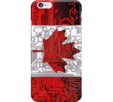 circuit board Canada (Flag) iPhone Case/Skin