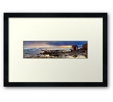 Doorway To The Underground Framed Print