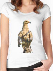 Egyptian Vulture Boromir Women's Fitted Scoop T-Shirt