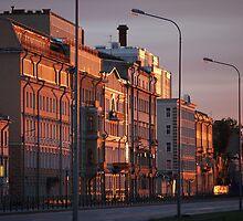 Morning cityscape  by mrivserg