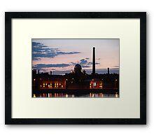 night cityscape Framed Print