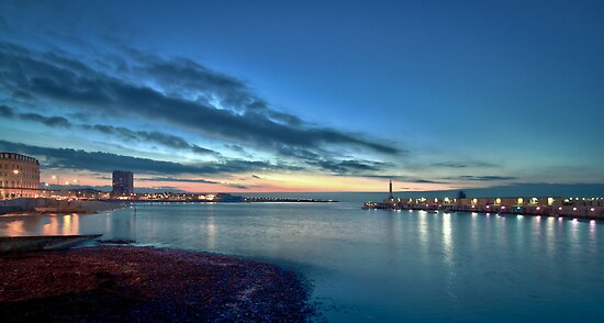 Margate Harbour by Geoff Carpenter
