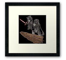Star Wars Lion King Framed Print
