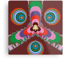 Psychedelic Eyes Metal Print