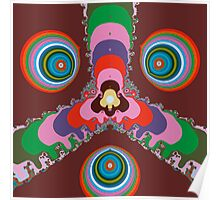 Psychedelic Eyes Poster