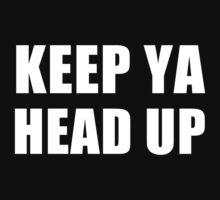 Keep Ya Head Up Kids Tee