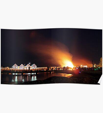 Lighting of the Bonfire Poster