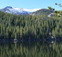 Rocky Mountain Lake Sticker
