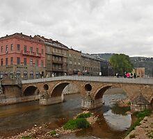 A bridge,Saraybosna by rasim1