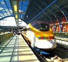Eurostar Train by chawus