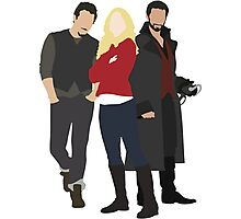 Neal, Emma, and Hook Photographic Print