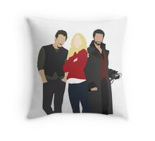 Neal, Emma, and Hook Throw Pillow