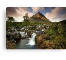Scotland: Summer on Buachaille Etive Mor Canvas Print