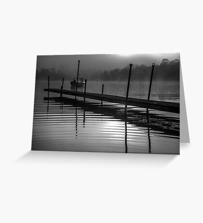 Mist on Loch Ness Greeting Card