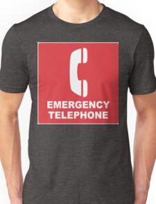 Emergency Telephone Unisex T-Shirt