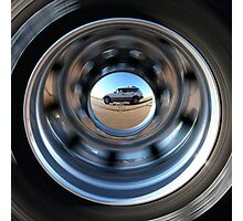 On the Road Self-Portrait Photographic Print