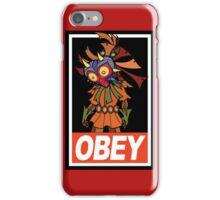 Majora's Mask [ Obey ]  iPhone Case/Skin