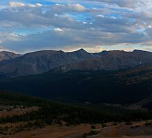 Rocky Mountain Panorama by Dan Owens