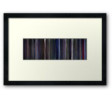 Moviebarcode: Star Trek: The Motion Picture (1979) Framed Print