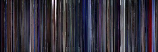 Moviebarcode: Star Trek: The Motion Picture (1979) by moviebarcode