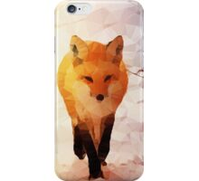 Red Fox Low Poly iPhone Case/Skin