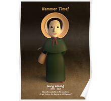 Mary Anning - Hammer Time! Poster
