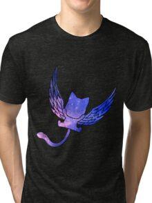 Galaxy Fairy Tail Happy Design Tri-blend T-Shirt