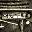 Old Car Radio by Timothy Borkowski