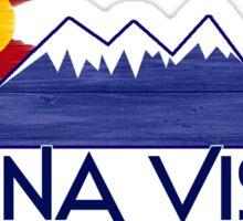 Buena Vista Colorado wood mountains Sticker