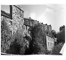 Edinburgh Elegy, Dean Village ~ For Oxley Poster