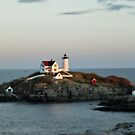 The Nubble Lighthouse, York  ME by Bine