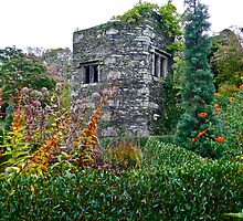 Tower in the Garden by magicaltrails