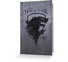 Stark Fan boy Greeting Card