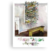 Eyedea (by the throat) Canvas Print