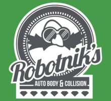 Robotnik's Auto Body & Collision Baby Tee